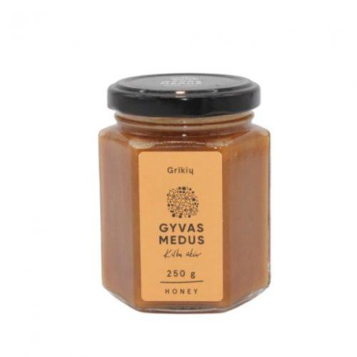 Grikių medus, 250 ml.