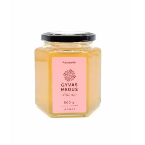 Pavasario žiedų medus, 500 ml.