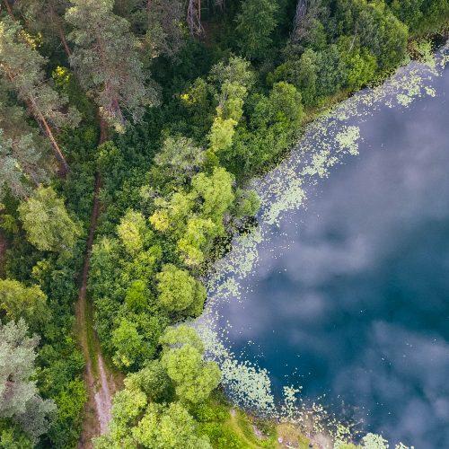 """Fotodrobė """"Perlojos ežeras 2"""""""
