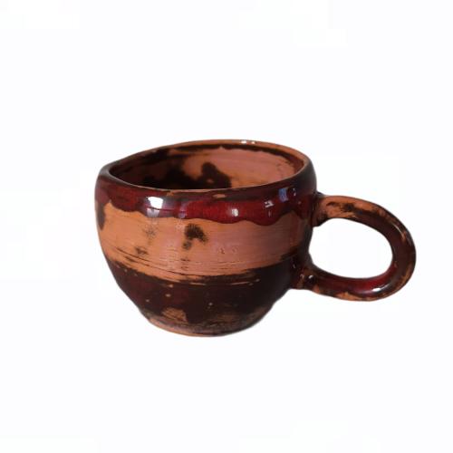 Rankų darbo keramikinis puodelis