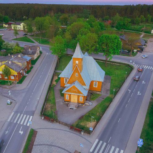 """Fotodrobė """"Varėnos Šv. arkangelo Mykolo bažnyčia"""""""